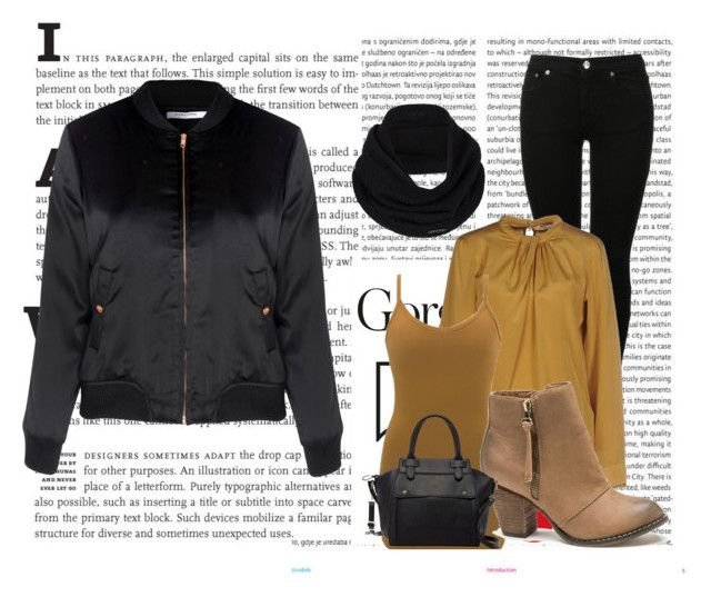 """casual#6"" by tanttu-haapop on Polyvore featuring Oris, Glamorous, MM6 Maison Margiela, Caliban, BKE, London Rebel, prAna and Pink Haley"