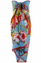 Women's Plus Size Cover Ups - Always For Me Cover Aloha Pareo