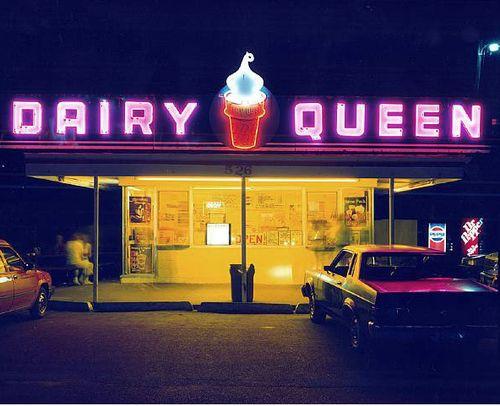 Dairy Queen,  1988  Jim Dow