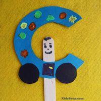 Preschool Transportation Crafts, Activities, Lessons, Games, and Printables   KidsSoup