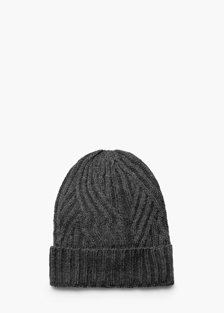 Knit beanie - More accessories for Women | MANGO