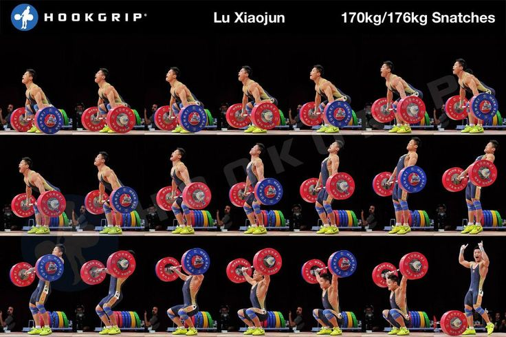 Lu Xiaojun snatch  Lifting  Pinterest  Weights, Posts and The Ojays