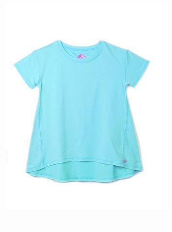 Girls High/Low Yoga T-shirt
