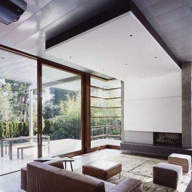 1000 ideas about drop down ceiling on pinterest - Limposante residence contemporaine de ehrlich architects ...