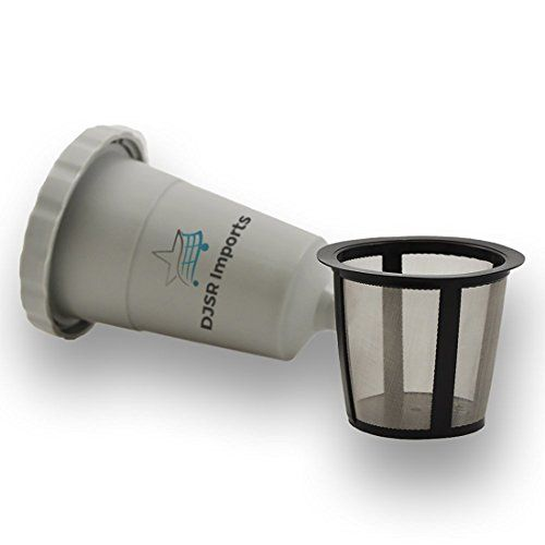 DJSR Imports Kcup Reusable Single Serve Coffee Filter ** Click image for more details.  This link participates in Amazon Service LLC Associates Program, a program designed to let participant earn advertising fees by advertising and linking to Amazon.com.