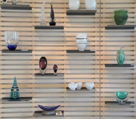 shelfs in light wood. #interior #contemporary #home #decor http://www.kjeldtoft.com/