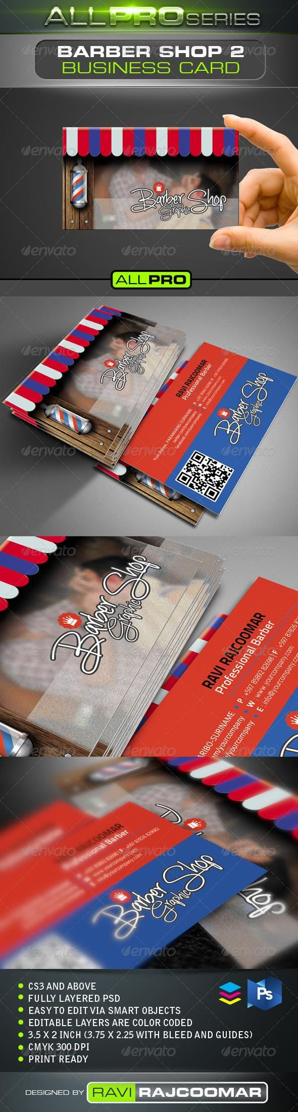 The Barbershop Business Card Vol.2