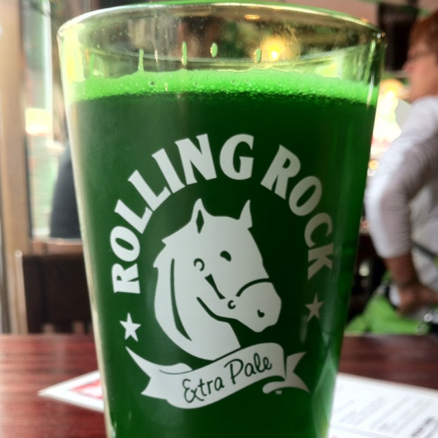 The rolling rock