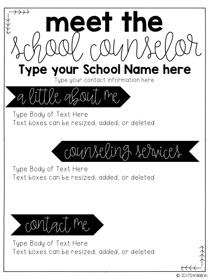 Best School Counseling Role Images On   Nd Grades