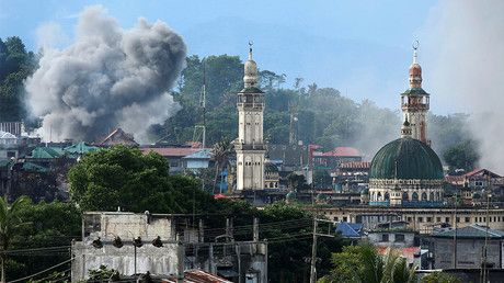 ISIS command helped Philippine militants seize Marawi through funding & recruits – report https://tmbw.news/isis-command-helped-philippine-militants-seize-marawi-through-funding-recruits-report  A new report has revealed that the Islamic State central command in Syria has been steadily funding militants in the Philippines, helping them seize the city of Marawi, arranging funding and carrying out recruitment.The report was published by the Jakarta-based Institute for Policy Analysis of…