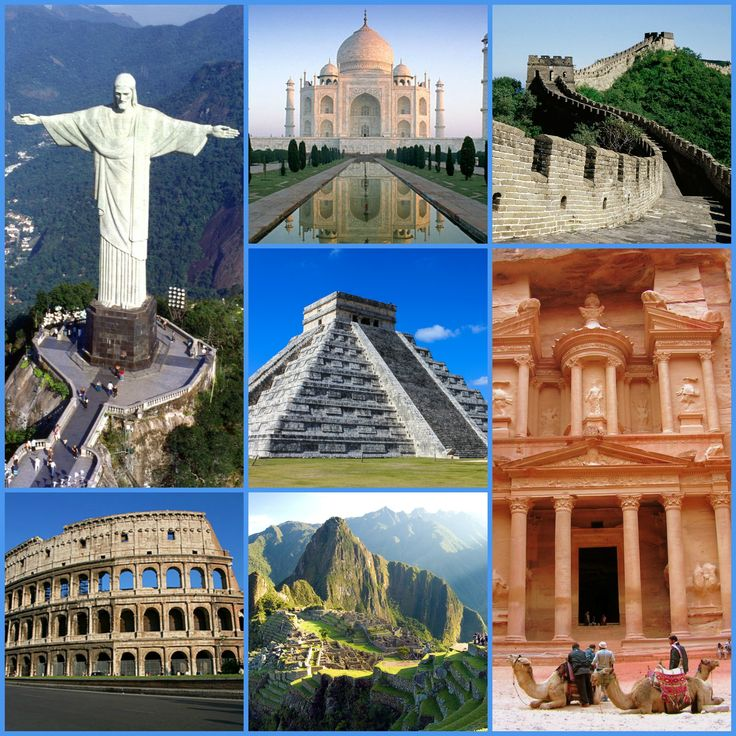 best wonders of world ideas world wonders  the new seven wonders of the world