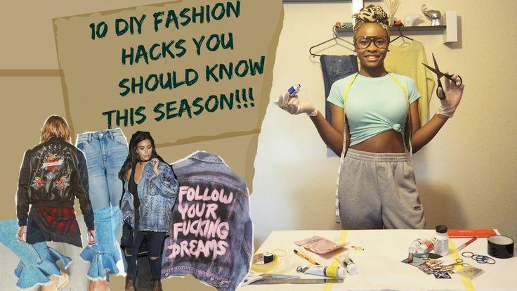 10 Diy Fashion Hacks You Should Know This Season