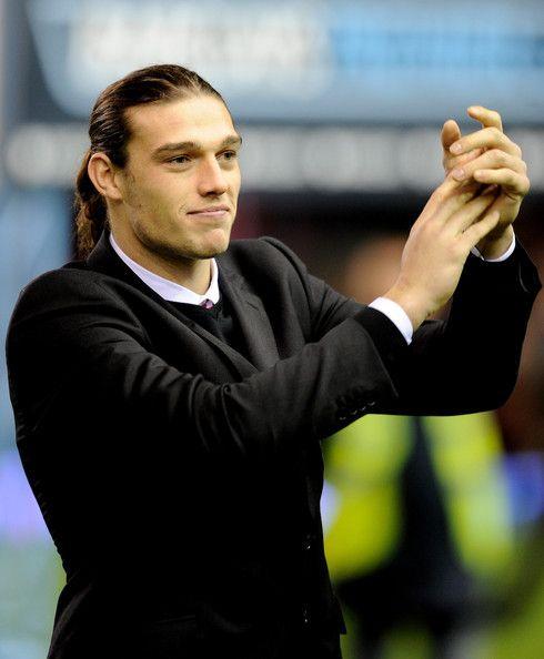 Andy Carroll of the England Soccer Team