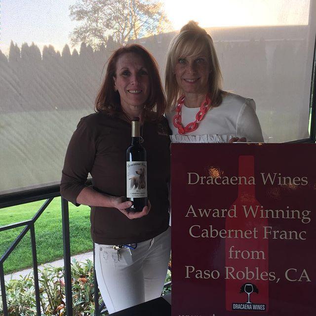 Dracaena Wines at the Chilton Memorial Hospital Wine Event in Wayne, NJ