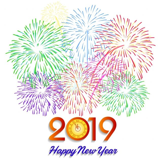 Pin by Anuja on greetings Happy new year, Happy new year png