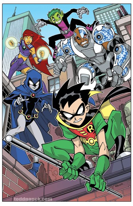 Teen Titans on Patrol - Todd Nauck