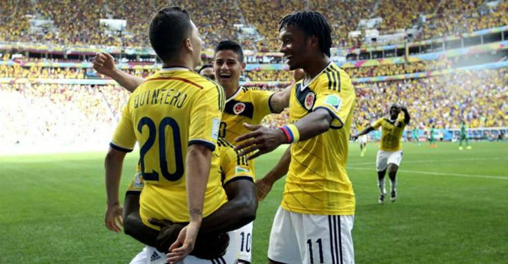 #VamosColombia  #Brasil2014  #Futbol