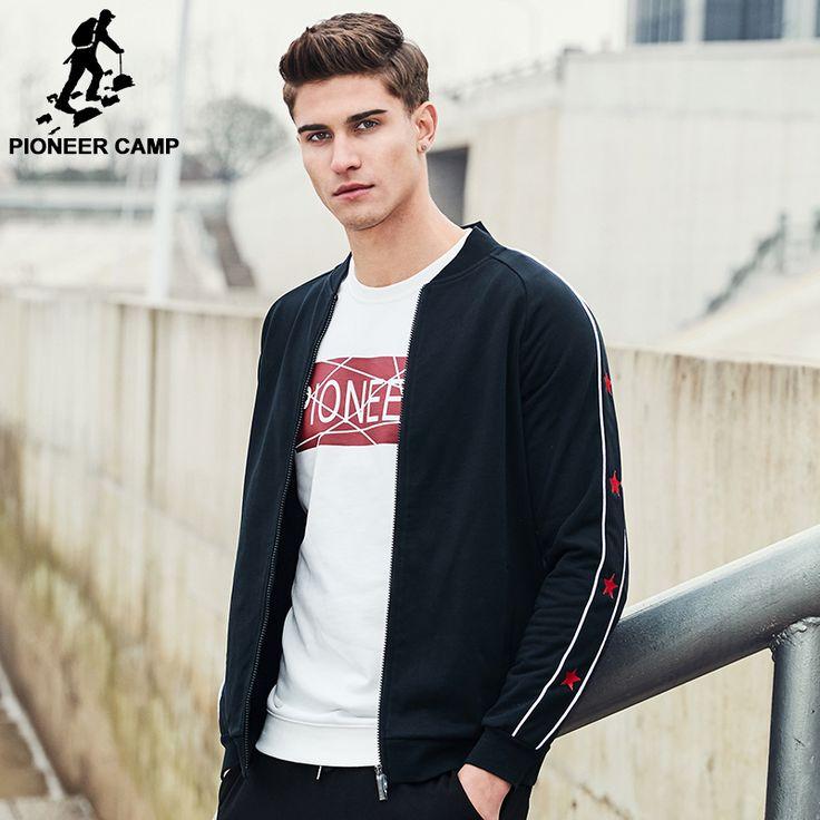 Pioneer camp nueva llegada de la manera hombres de la chaqueta famosa marca clothing zipper masculino abrigo prendas de vestir exteriores ocasional para los hombres ajk702053 en Chaquetas de Ropa y Accesorios en AliExpress.com | Alibaba Group