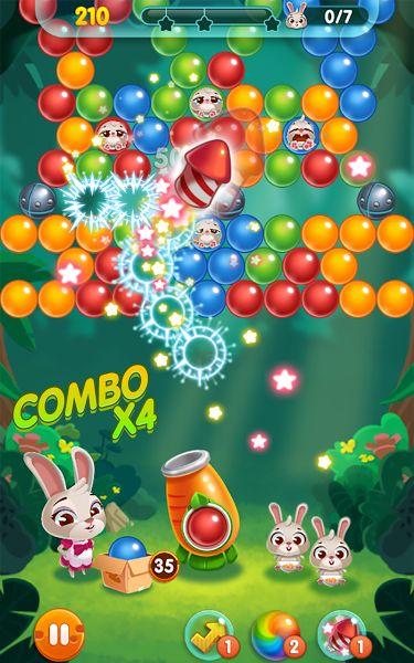 Bunny Pop v1.0.143 [Mod] Apk Mod  Data http://www.faridgames.tk/2017/03/bunny-pop-v10143-mod-apk-mod-data.html