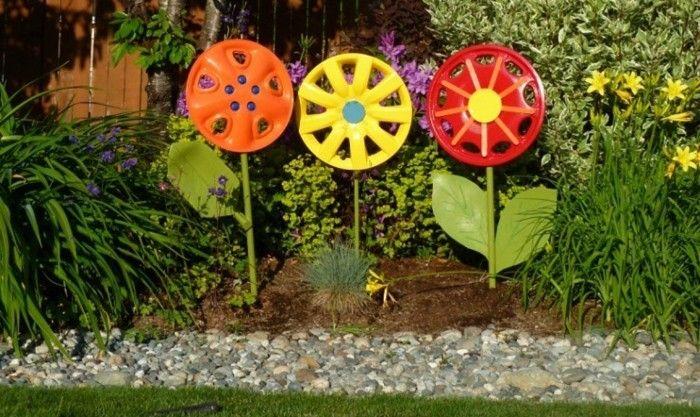 Ausgefallene Gartendeko Selber Machen Upcycling Ideen Diy Deko Garderobe  Selber Machen Basteln Mit Alten Autoteilen