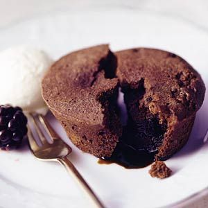 Recept - Smeltende chocoladecakejes -