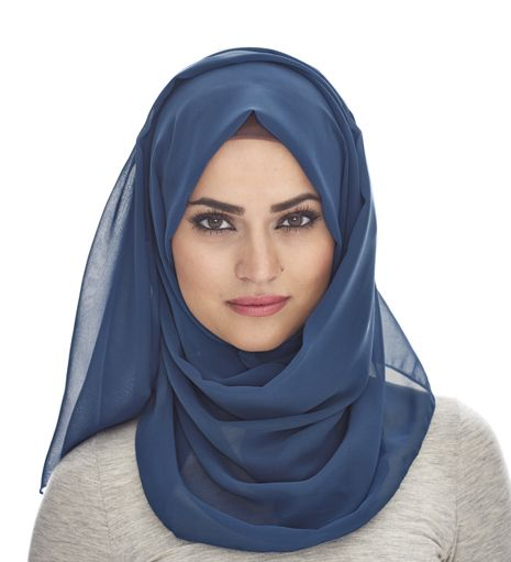 DENIM SOFT GEORGETTE HIJAB