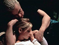 Spike and Buffy.  A love story that could have been so much more.  The absolute love that Spike had for Buffy still moves me even to this day.  I just wish Buffy could have really given them a chance.