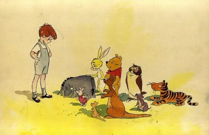 Winnie the Pooh, character concepts