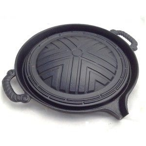 cast iron korean bbq grill pan 28cm : Buy - GourmetSleuth