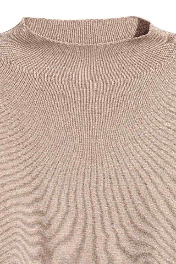 Pulover tricotat fin - Bej - FEMEI   H&M RO