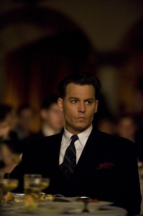 Johnny Depp, Public Enemies #johnnydepp #johnnydepppublicenemies