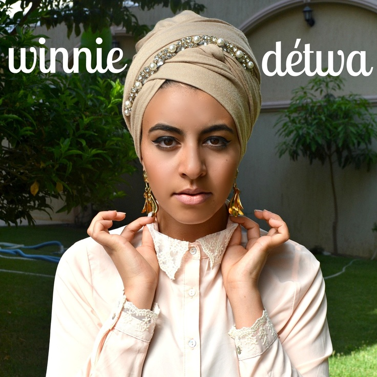 Simple, delicate and super chic turban