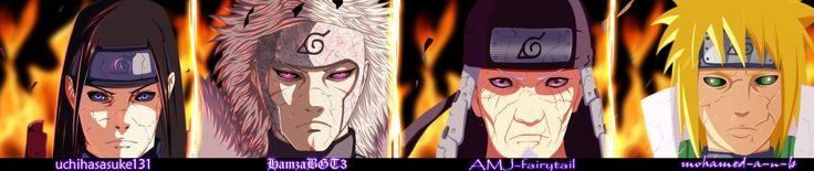 Naruto - Edo Tensei Hokage - Collab by AJM-FairyTail on @DeviantArt
