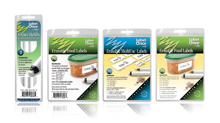Erasable Food Labels from OrgJunkie: Erase Food, Money Savers, Dishwashers Safe, Food Labels, Era Food, Great Ideas, Era Labels, Storage Container, Erase Labels