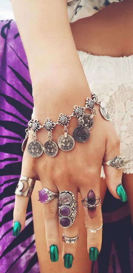 Boho jewelry style Women's Accessories - http://amzn.to/2hWwWYY