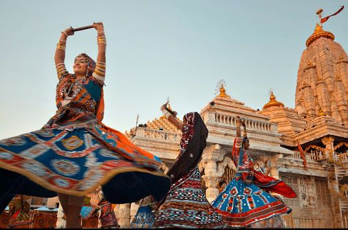 In #Gujarat, the #Navratri festival brings music and dancing to every town and…