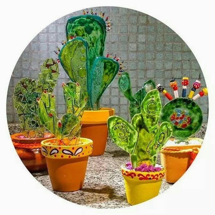 Cactus vitrofusion