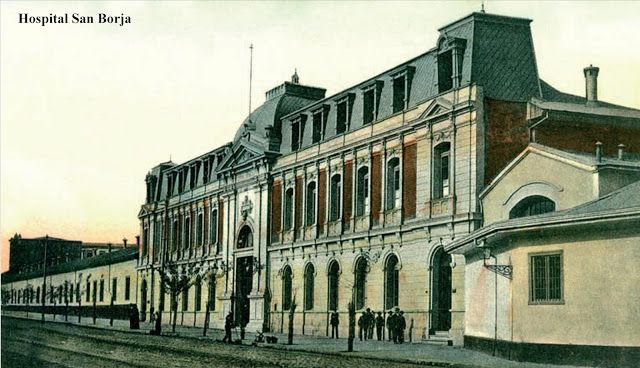 Hospital San Borja. Santiago de Chile, Ca. 1900
