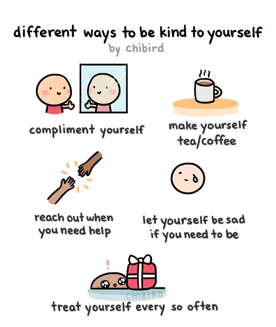Be kind to yourselves everyone! ^^