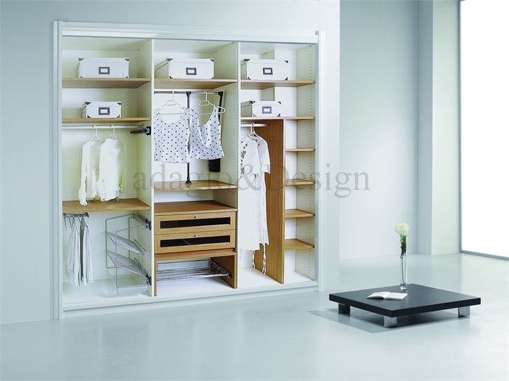 17 best images about interiores armarios on pinterest - Forrar interior armario ...