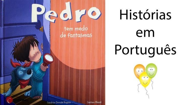 #Sobrenatural Pedro tem medo de fantasmas | Histórias para Crianças: Como todos os meninos da sua idade, o Pedro é travesso, curioso,…