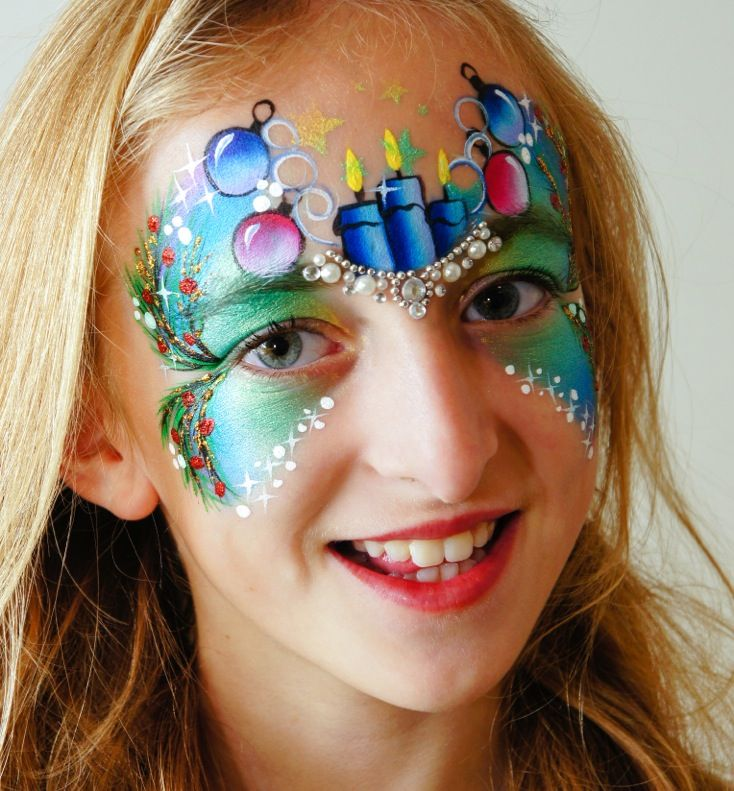 Christmas Face Painting Competition 2014 - COMPETITION CLOSED