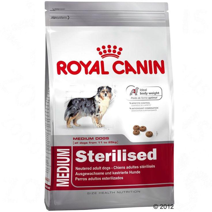 Animalerie  Royal Canin Medium Adult Sterilised pour chien  2 x 12 kg