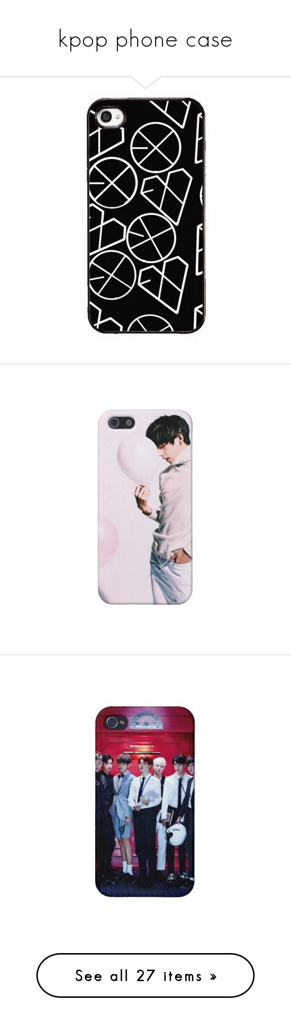 """""""kpop phone case"""" by schnpri ❤ liked on Polyvore featuring kpop, accessories, tech accessories, phone, phone cases, samsung smartphones, samsung, samsung galaxy smartphone and bts"""