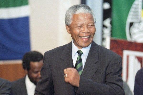 Nelson Mandela dies. He was 95.