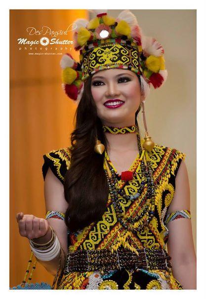 Elongated ears Dayak Kenyah@Borneo Hornbill Festival 6.0