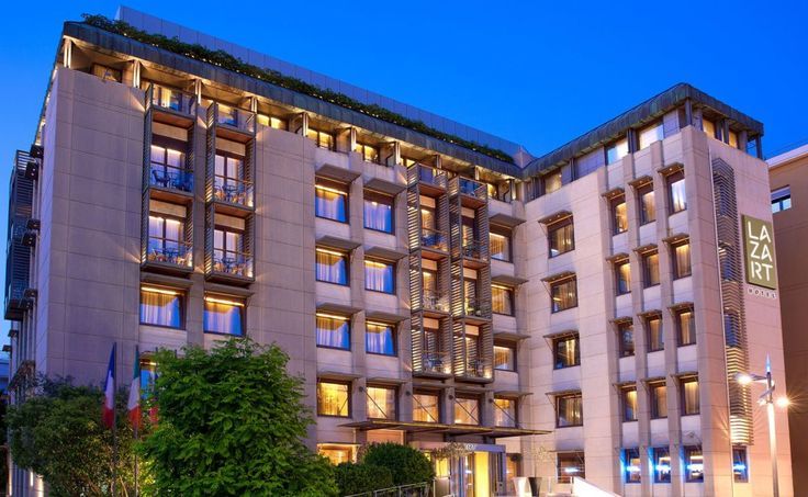 Les Lazaristes Renamed 'Lazart Hotel', Doors Open June 22.