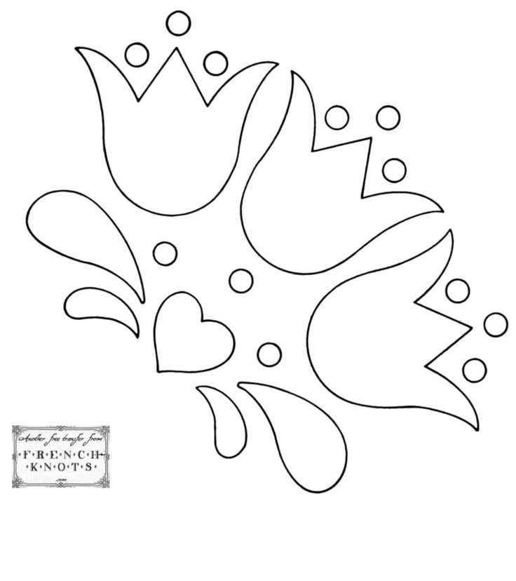 Quiet book flower heart motive  тиха книжка мотив с цветя цвете и сърце