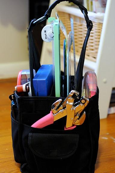 portable tool tote