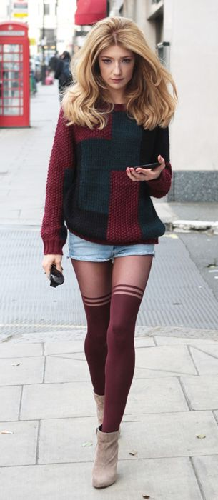 her tights from topshop